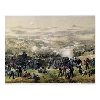 Der Kampf von Inkerman 1855 am 5. November 1854 Postkarte