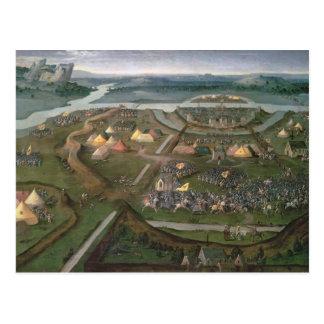 Der Kampf von Pavia im Jahre 1525, c.1530 Postkarte