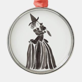 Der kleine Liebling der Mama Silbernes Ornament