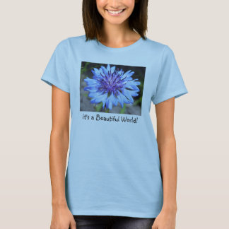 Der Knopf-BlumenT - Shirt des Junggesellen der