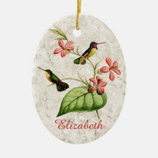 Der Kolibri der Costa Keramik Ornament
