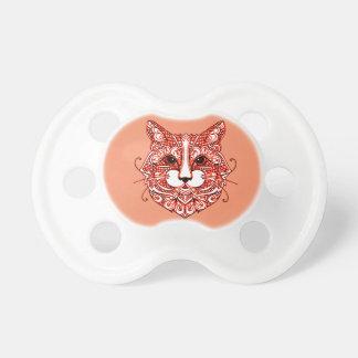 Der Kopf 2 der Katze Schnuller