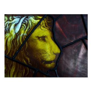 Der Kopf des Löwes Postkarte