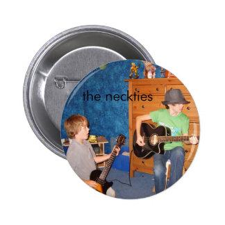 Der Krawatten-Gitarrist-Knopf Runder Button 5,1 Cm