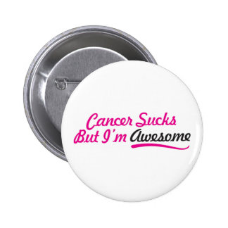 Der Krebs, der aber ist zum Kotzen sind, ich sind Runder Button 5,7 Cm