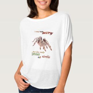 Der Kreis-Spitze der harmlosen Tarantula-Frauen T-Shirt