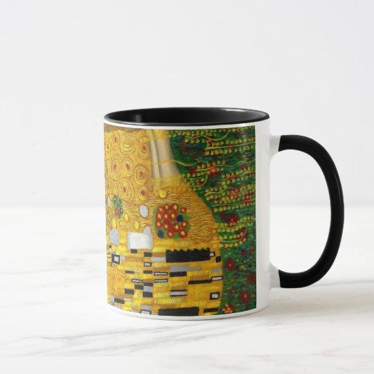 Der Kuss durch Gustav Klimt Tasse