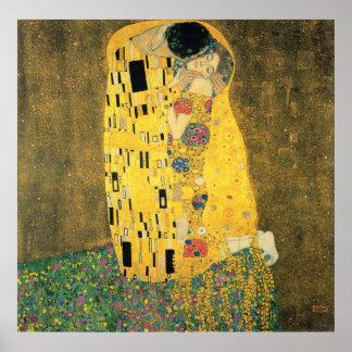 Der Kuss - Gustav Klmit Poster
