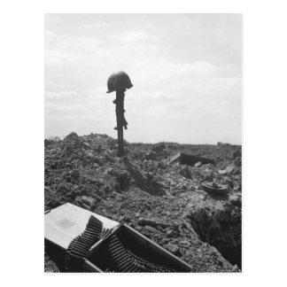 Der Landekopf ist sicheres, aber the_War Bild Postkarte