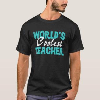 Der Lehrer-Dunkelheits-T - Shirt der Welt coolster
