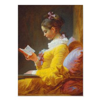 Der Leser durch Jean-Honore Fragonard Karte