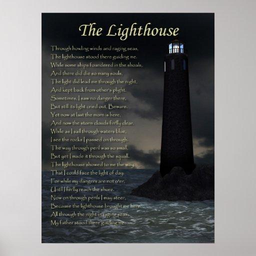 Der Leuchtturm Posterdruck