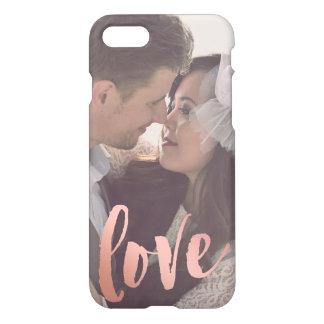 Der Liebe-| kundenspezifisches Foto Rosen-des iPhone 8/7 Hülle