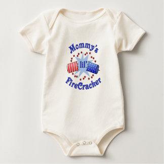 Der Lil der Mama Firecracker-T - Shirt