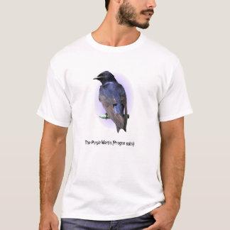 Der lila Martin T-Shirt
