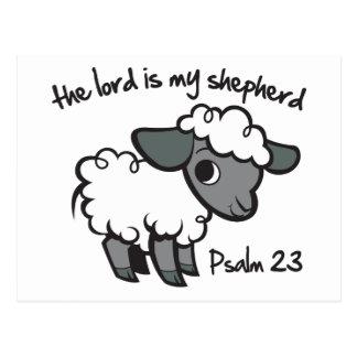 Der Lord ist mein Schäfer Postkarte