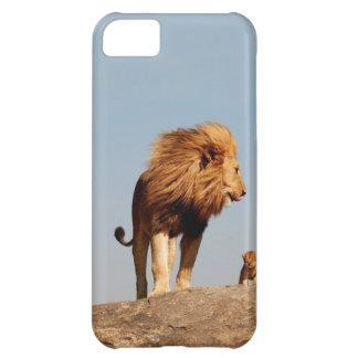 Der Löwe-König (erwachsener Löwe und CUB) iPhone 5C Hülle