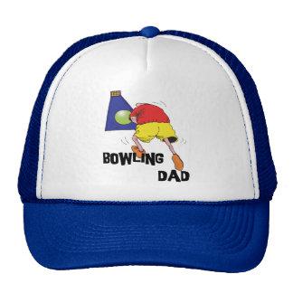 Der lustige Vatertag Bowlings-Vati- Baseball Mützen