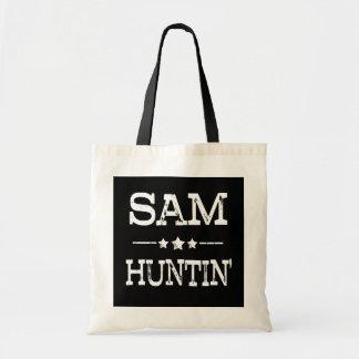 Der lustigen die Tasche Sprichwort-Frauen Sams