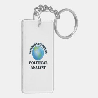 Der lustigste politische Analyst der Welt Schlüsselanhänger