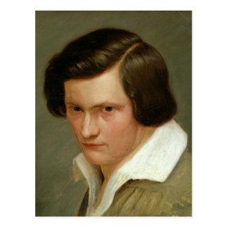 Der Maler Otto Speckter, c.1831 Postkarte