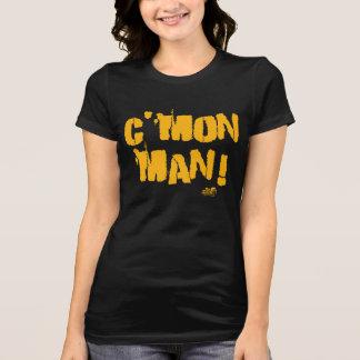 Der Mann der Frauen C'mon! Schwarzes und T-Shirt