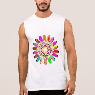 Der Männer Sleeveless T - Shirt CHAKRA ultra