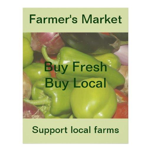 Der Markt-Flyer des Bauern