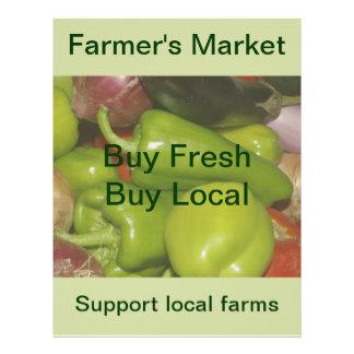 Der Markt-Flyer des Bauern 21,6 X 27,9 Cm Flyer