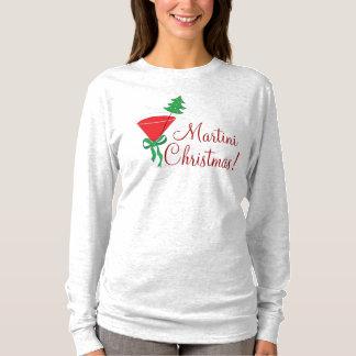 Der Martini-WeihnachtsShirt der Frau T-Shirt