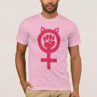 Der März der feministischen T-Shirt