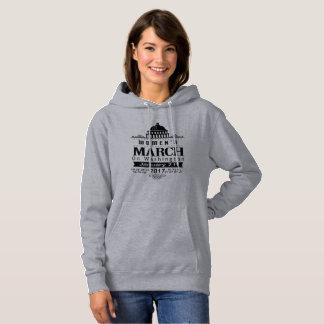 Der März Million Frauen auf Schwarzem Washingtons Hoodie