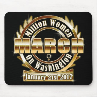 Der März Million Frauen auf Washington Mousepad