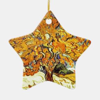 Der Maulbeerbaum, Vincent van Gogh Keramik Ornament