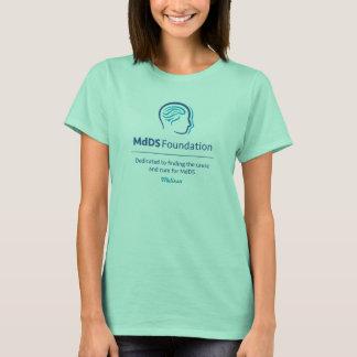 Der MdDS der Frauen Bewusstseins-grundlegender T - T-Shirt