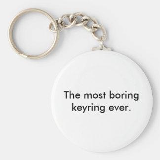 Der meiste langweilige Schlüsselring überhaupt Schlüsselanhänger