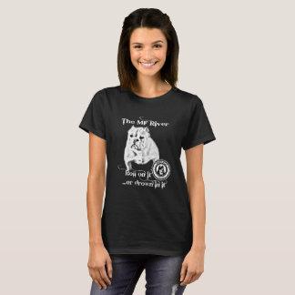 Der mf-Fluss- BBC Shorty Stier T-Shirt