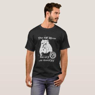 Der mf-Fluss- Männer BBCs Shorty Stier T-Shirt