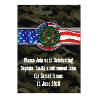 Der Militärruhestand eines Soldaten Karte