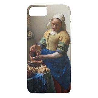 Der Milkmaid durch Johannes Vermeer iPhone 7 Hülle