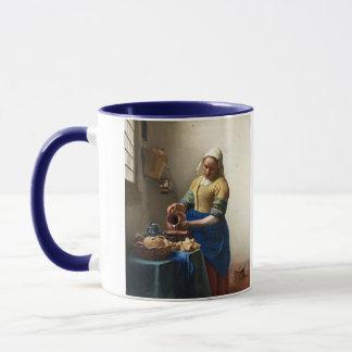 Der Milkmaid, Jan. Vermeer Tasse