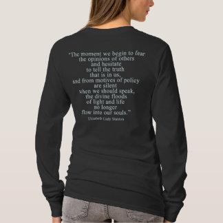 Der Moment, den wir anfangen, die Meinungen von T-Shirt