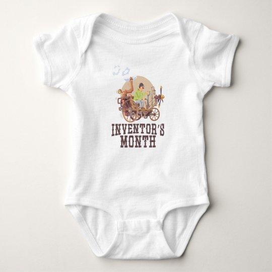 Der Monat des Erfinders Baby Strampler