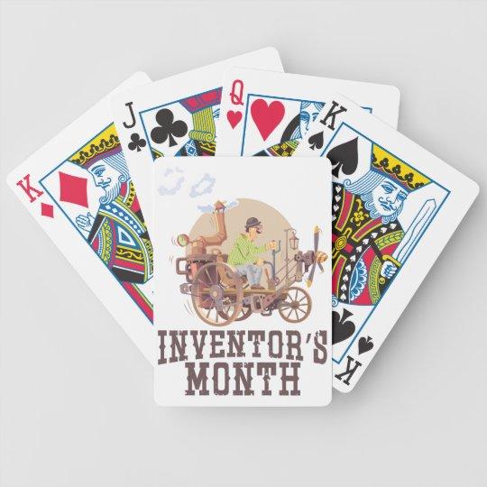 Der Monat des Erfinders Bicycle Spielkarten