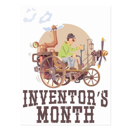 Der Monat des Erfinders Postkarte