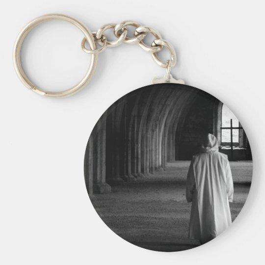 Der Mönch #2 Standard Runder Schlüsselanhänger