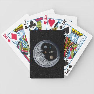 Der Mond-Wächter, Augen des Universums Pokerkarten