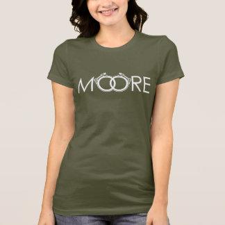 Der Moore-Leistung der Frauen zerteilt Turbo-Shirt T-Shirt
