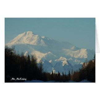 Der Mount McKinley Karte