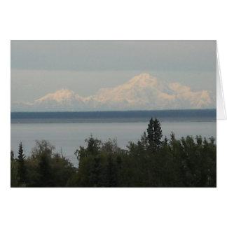 Der Mount McKinley oder Denali Karte